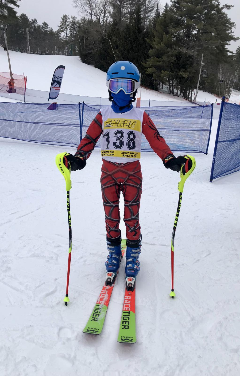 1st Race U10 Gould on Snow