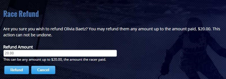 Refund Racer