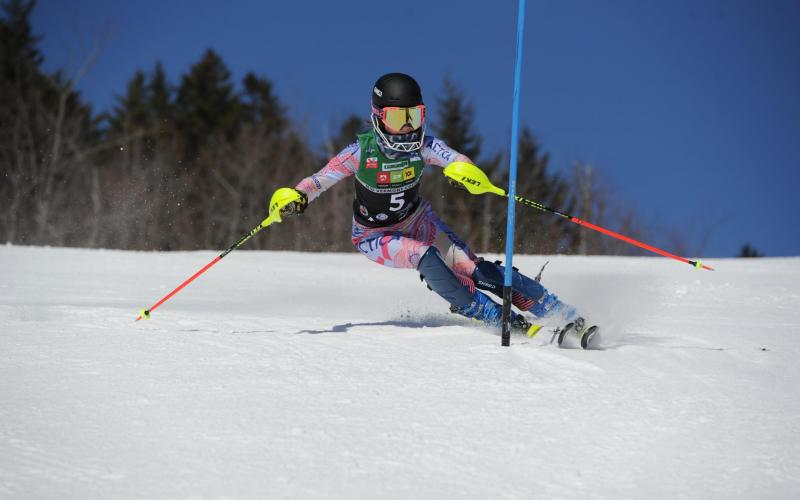 Alice Padilha U14 SL at Okemo