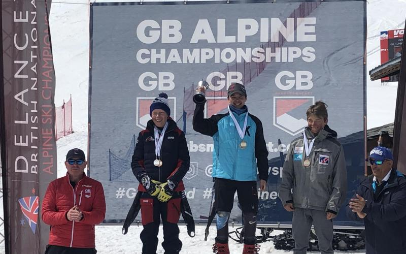 GB U14 British National Alpine Championships, Tignes Val Claret, France